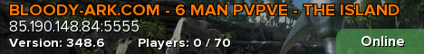 BLOODY-ARK.COM - ISLAND - FRESH WIPE - WEEKEND RAIDS