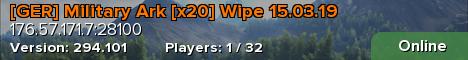 [GER] Military Ark [x20] Wipe 15.03.19