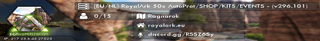 [EU/NL] RoyalArk Low Boosted AutoProt/SHOP/KITS/EVENTS