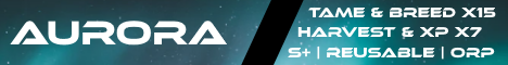 [ENG/NL][CLUSTER] AURORA ARK | 7x H&XP | 15xT&B | PvPvE