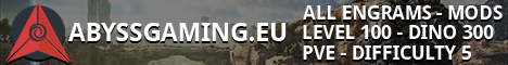 ABYSSGAMING.EU (PVE) 5X RATE - ALL ENGRAMS - CROSS TRAVEL -